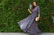 Comment porter une robe longue bohème ?